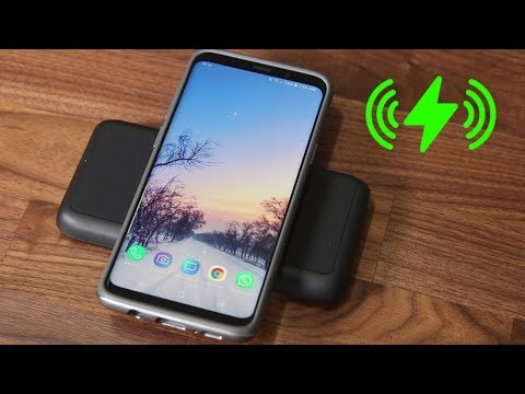 A True Wireless Charger (without Wires) for Galaxy S9, Note 8, iPhone X & more.