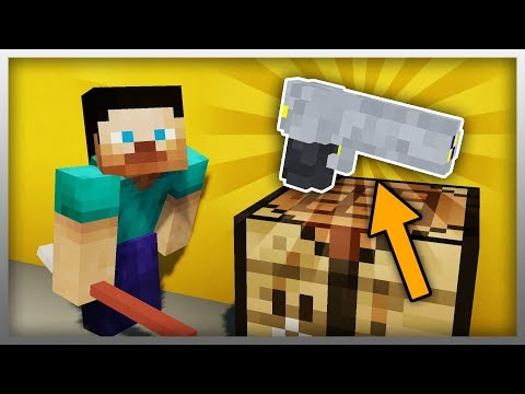 ✔️ How to Build Your Own WEAPON in Minecraft!