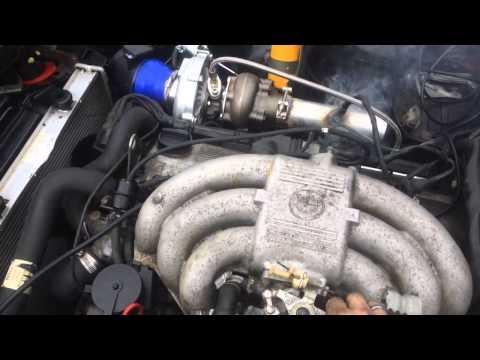 BMW M50B25 600 hp turbo cylinderhead build  - Bmw S50 Turbo Kit