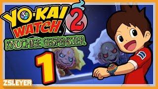 Berliner Vs. Krapfen! - #1 - Yo-kai Watch 2: Knochige Gespenster | Zsleyer