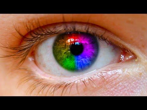 Photoshop CS5 Rainbow Eye Colour Tutorial