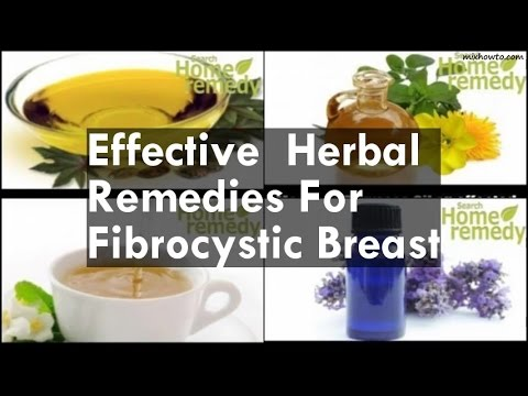 Remedies For Fibrocystic Breast