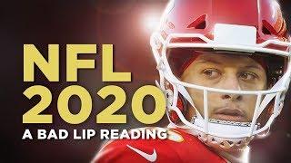 """""""NFL 2020"""" — A Bad Lip Reading"""