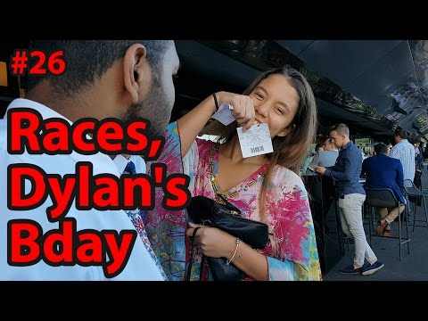 DAN'S WORLD: RANDWICK RACES & DYLAN'S BDAY