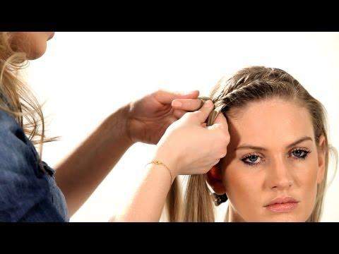 How to Do a Fishtail Headband   Braid Tutorials