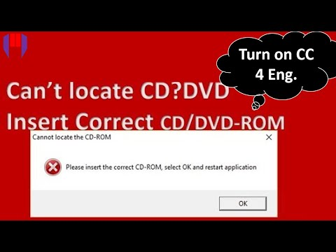 How to Fix CALL OF DUTY Please Insert Correct CD DVD ROM