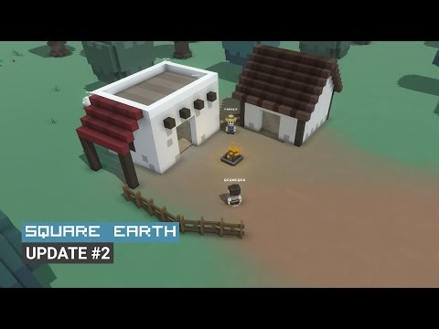 Square Earth Update #2 - Voxel MMORPG (Unity)