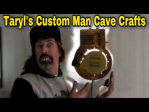Taryl's Custom Crafts - Recoil / Lawn Mower Wall Lamps