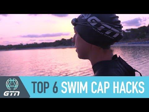 Top 6 Swim Cap Hacks | Wear Your Swim Cap Like A Pro