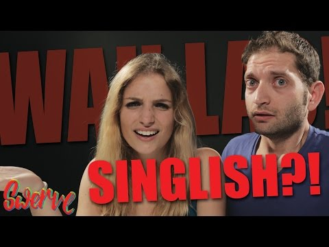 Foreigners try and speak Singlish!