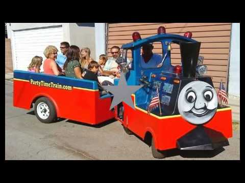 TRACKLESS TRAIN PARTY