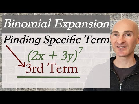 Binomial Expansion Find a Specific Term