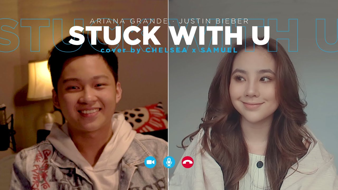 Download Ariana Grande & Justin Bieber - Stuck with U (Cover by Chelsea X Samuel Cipta) MP3 Gratis