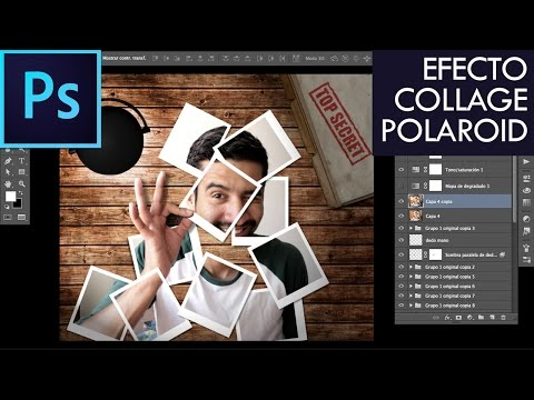 Crear efecto Polaroid   Photoshop CC Tutorial #12   Español