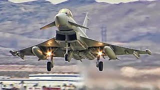 Multinational Fighter Jets Train At U.S. Air Force Base
