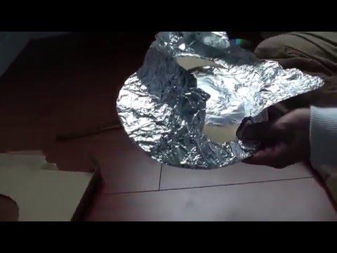 Cheapo Tech: DIY Make Pie Plate HDTV Antenna, Easiest to make free TV antenna