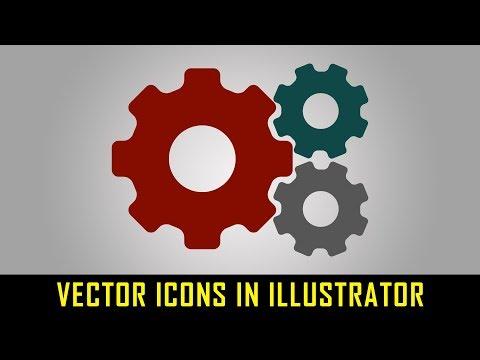 Create Settings Icon in Illustrator easily