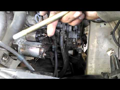 How to replace your car starter motor 2005 to 2010 Honda odyssey