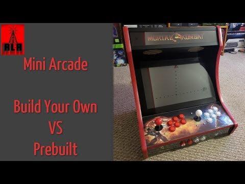 WeeCade Mini Arcade Machine - Build or Prebuilt??