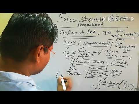 Slow speed in BSNL broadband/how to get better speed in bsnlBroadband