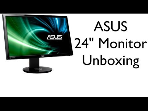 ASUS 24-inch 3D Gaming Monitor Unboxing (VG248QE)