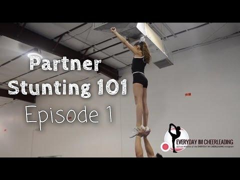 Partner Stunting 101: Toss hands extension & walk in tutorial