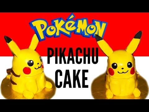 How To Make A POKÉMON Pikachu Cake - 3D Pikachu Cake
