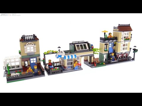 LEGO Creator Park Street Townhouse 3-in-1 review! 31065