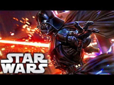 How Darth Vader Got His Red Lightsaber (Legends) - Star Wars Explained