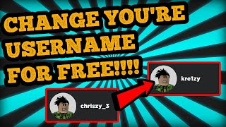 How To Change Username In Roblox For Free Playtube Pk Ultimate Video Sharing Website