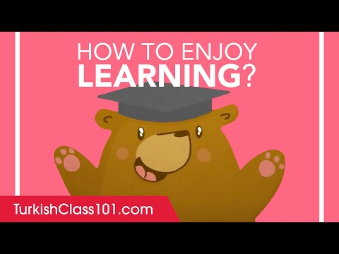 How to Enjoy Learning Turkish