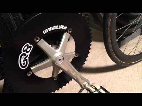 60 tooth Chainring - Track Sprint Bike