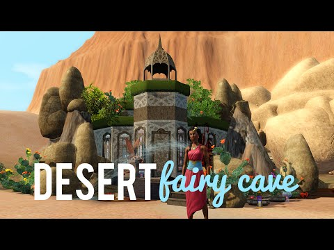 The Sims 3 Speed Build—Fairy Desert Cave