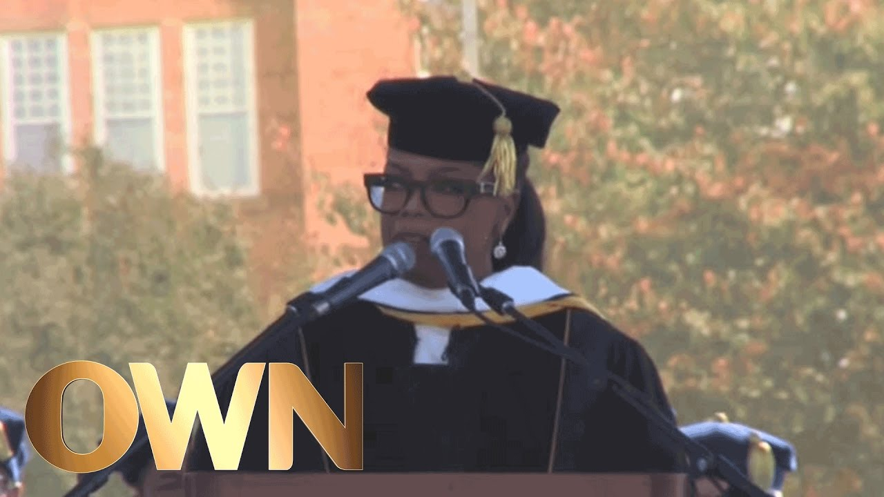 Oprah's Inspirational Commencement Speech at JCSU | Oprah Winfrey Network