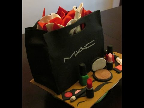 MAC Makeup bag cake