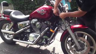 Honda Shadow Spirit Jetted and Piped - PakVim net HD Vdieos