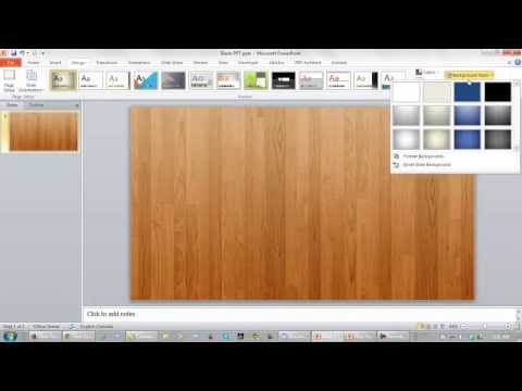 How To Make A Good PowerPoint Presentation Your Background Image