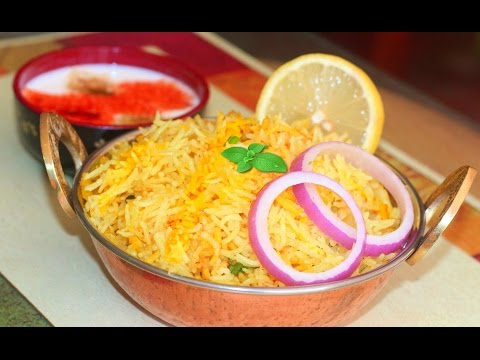 How to make Quick Plain Biryani Recipe | Indian Spicy Rice Video Recipe by Bhavna