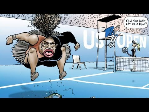 Everyone is being sexist and racist to Serena Williams