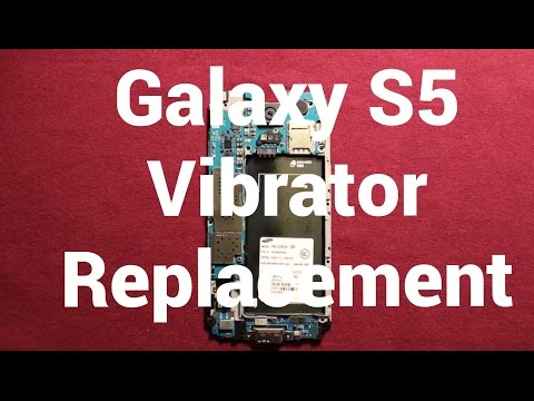 Galaxy S5 Vibrator Replacement How To Change