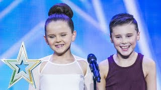 Izzie and Fionn dance to Sia's Set Free | Auditions Week 7 | Ireland's Got Talent 2018