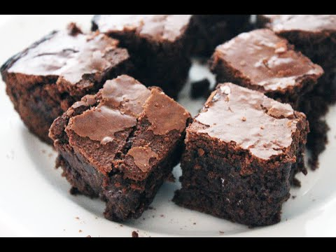 Chewy Fudgy Chocolate Brownies Recipe
