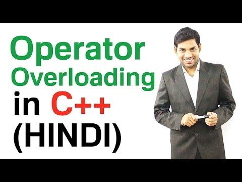Operator Overloading in C++ (HINDI)