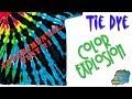 Experimental Tie Dye:  Color Explosion  [Liquid & Bowl Dye]