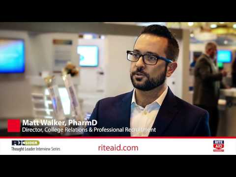 Why is working for Rite Aid a great opportunity? | Matt Walker, PharmD | Rite Aid