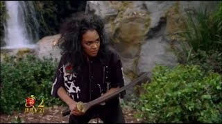 K.C. Undercover - Coopers on the Run - Shenna Tries Attack to KC - CLIP