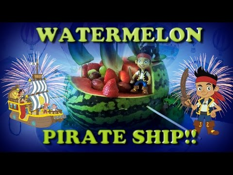 WATERMELON PIRATE SHIP | LCKC Toys