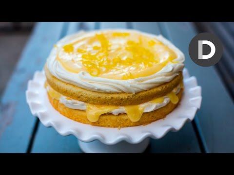 Epic Lemon Curd Cake!