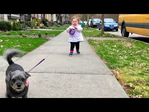 Walking with Aria