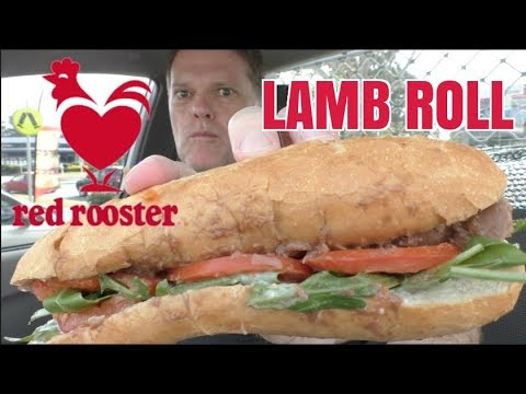 How Good is the Red Rooster Lamb Roll?  - Greg's Kitchen Food Review